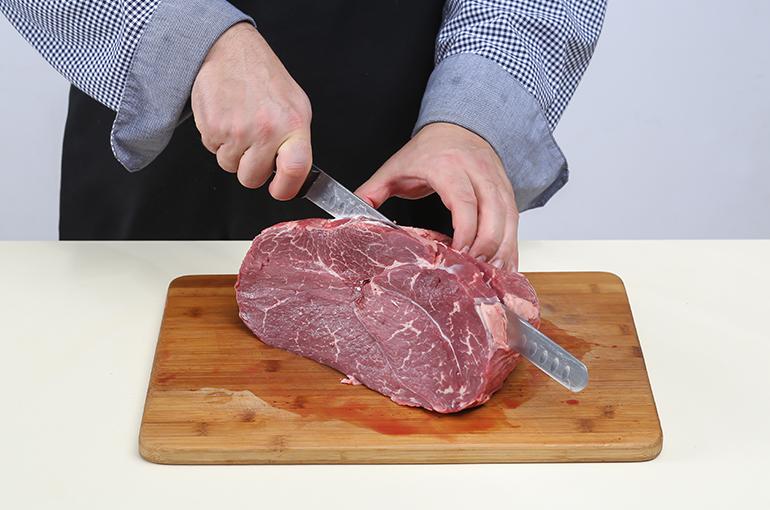 как резать мясо поперек волокон фото танцор